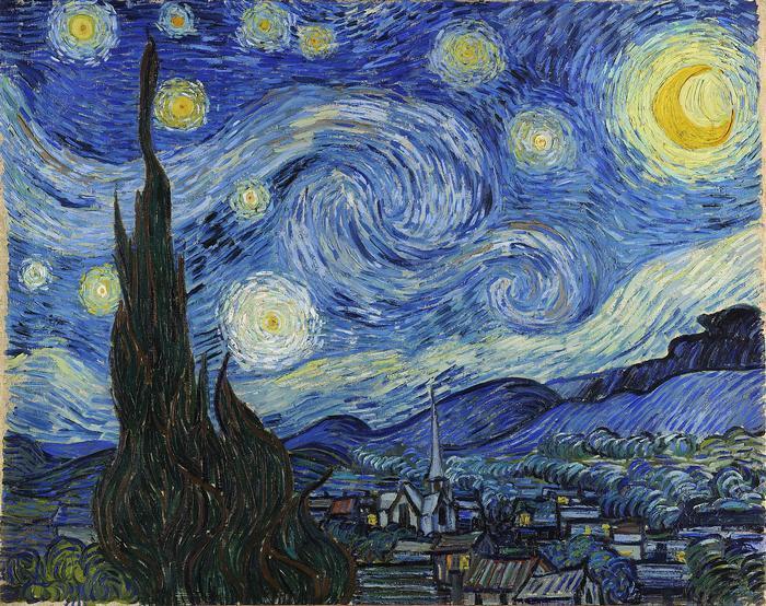 Csillagos éj, Vincent Van Gogh