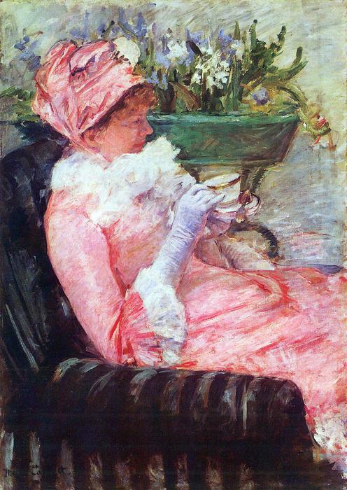 Egy csésze tea, Mary Cassatt