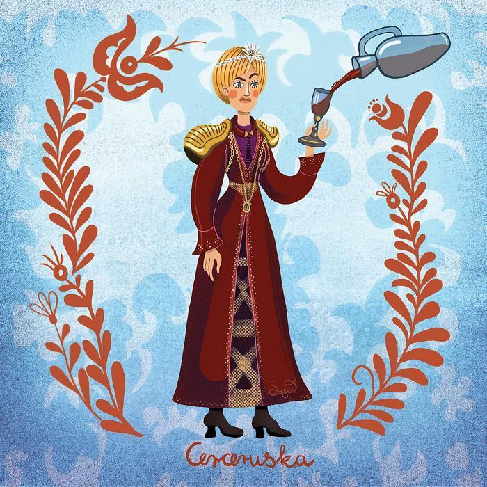 Cerceruska (Cersei Lannister), Partner Kollekció