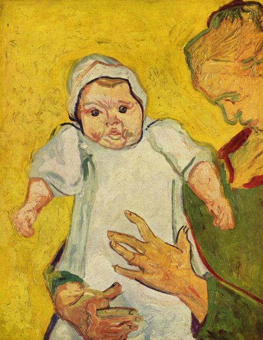 Augustine Roulin csecsemőjével (1888), Vincent Van Gogh