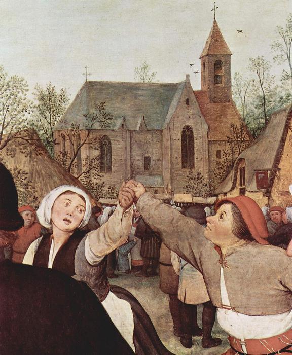 Paraszttánc (részlet), Pieter Bruegel the Elder