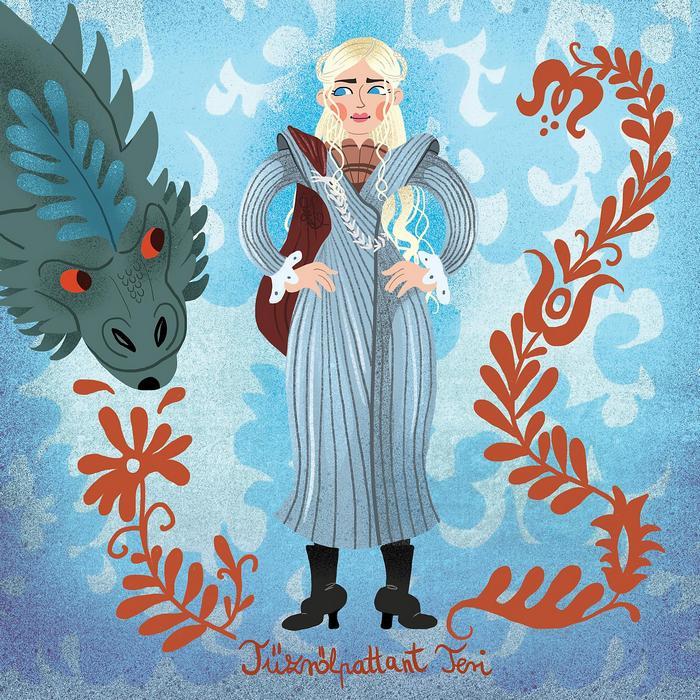 Tűzrőlpattant Teri (Daenerys Targaryen), Partner Kollekció