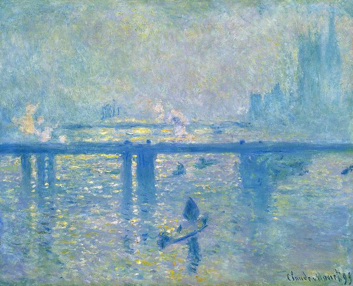 A Charing-Cross híd Londonban (1902), Claude Monet