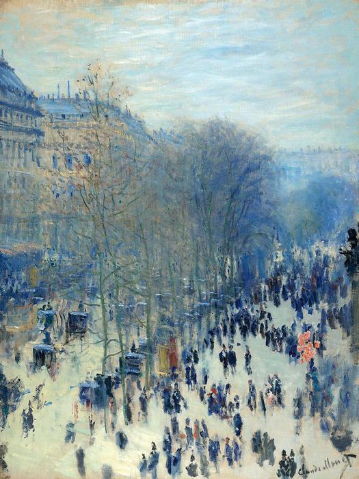 Capucines Boulevard, Claude Monet