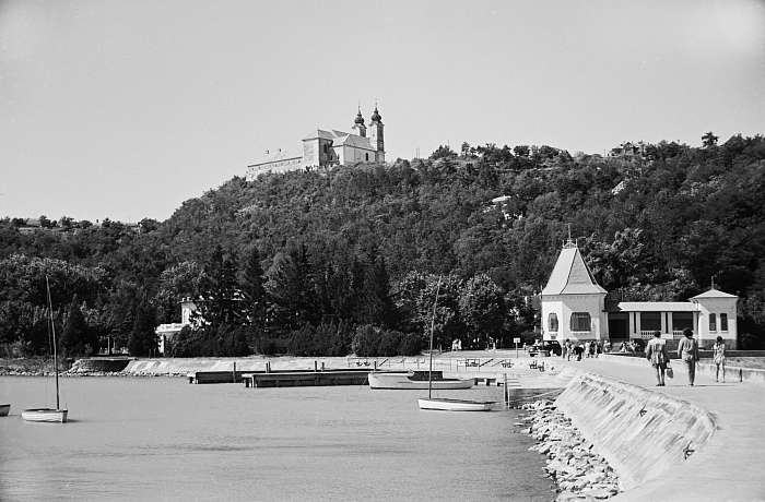 Tihanyi kikötő (1954), FORTEPAN