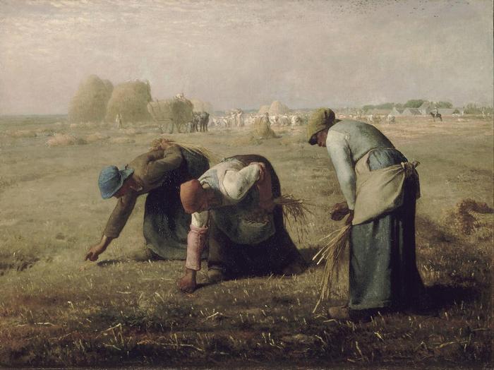 Kalászszedők (1857) - 1. színváltozat, Jean-François Millet