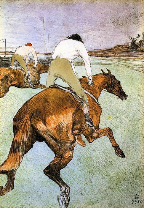 Zsokék versenyben, Henri de Toulouse Lautrec