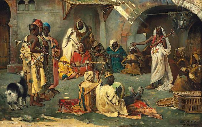 Vándormuzsikusok Tangerban, Tornai Gyula