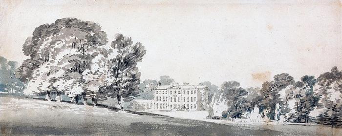 Kastély és park (színverzió 1), William Turner