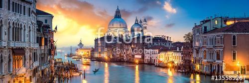 Velencei panoráma a naplementében, Premium Kollekció