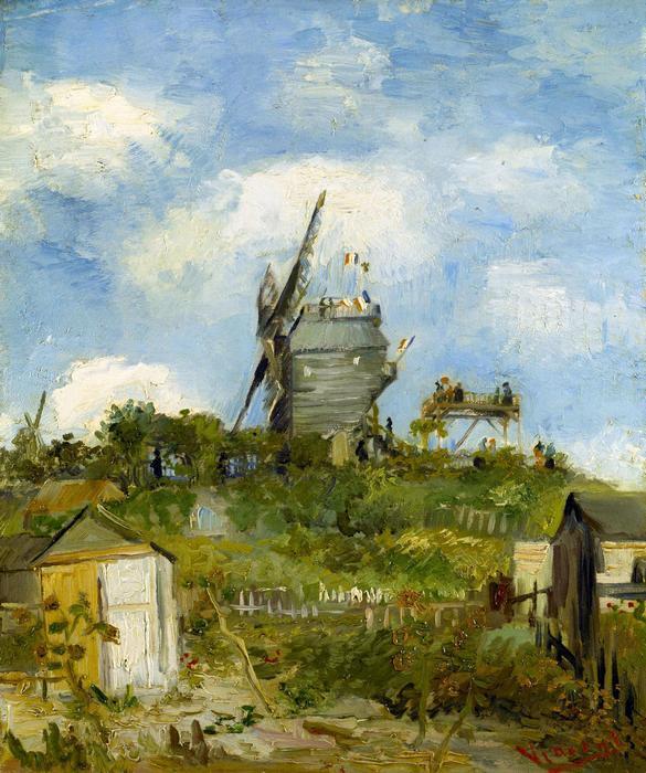 A Blut Fin-i szélmalom, Vincent Van Gogh