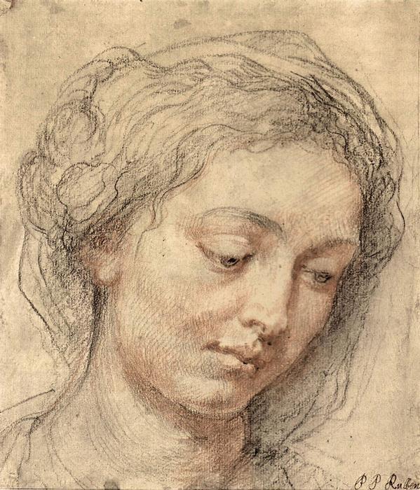 Női portré, Peter Paul Rubens