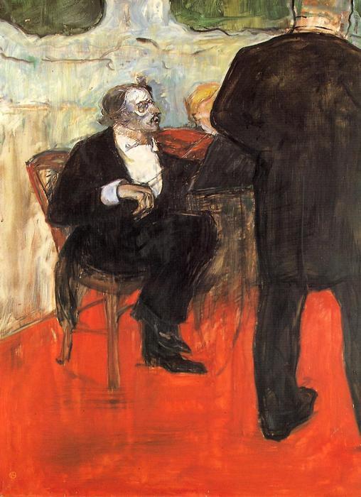 A hegedűs, Henri de Toulouse Lautrec