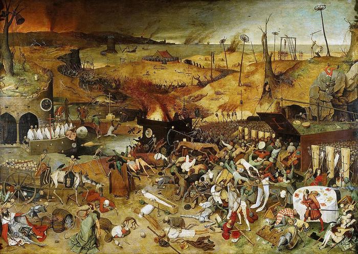 A Halál diadala, Pieter Bruegel the Elder