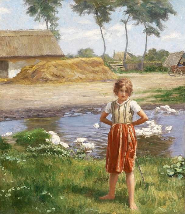 A kis libapásztor lány, Jendrassik Jenő