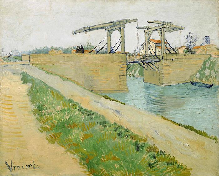 A Langlois híd, Vincent Van Gogh