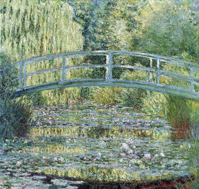 A japán híd Givernyben (1899), Claude Monet