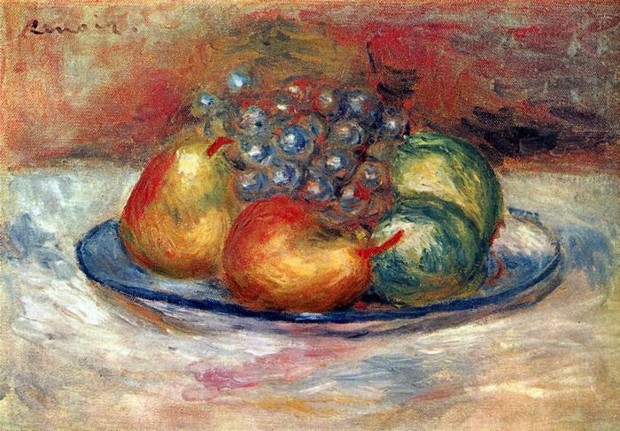Gyümölcs csendélet, Pierre Auguste Renoir
