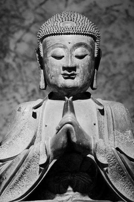Buddha szobor, India, Partner Kollekció