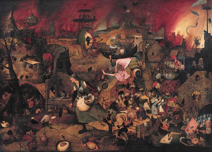 Őrült Margit , Pieter Bruegel the Elder
