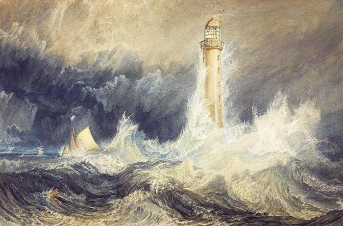 A Bell Rock világítótorony, William Turner