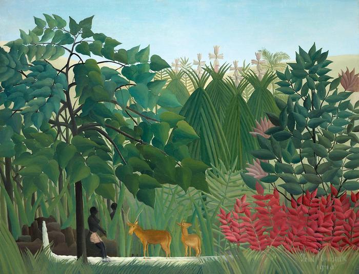 Vízesés, Henri Rousseau