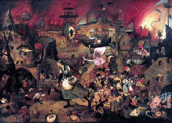 Őrült Margit (színverzió 1.), Pieter Bruegel the Elder