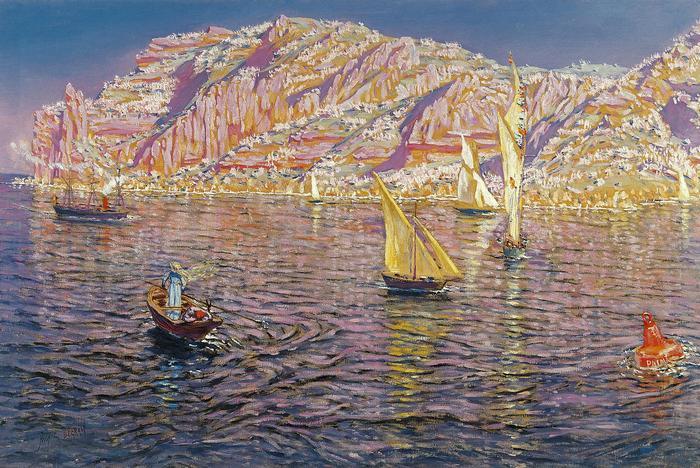 Mallorcai kikötő, Ismeretlen festők