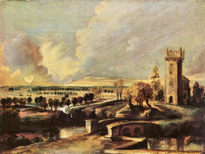 A Steen kastély látképe, Peter Paul Rubens