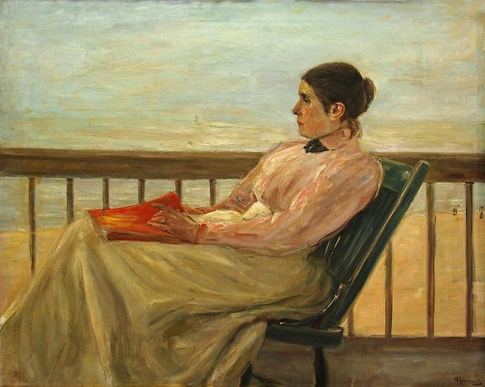 Martha Liebermann portréja, Max Liebermann