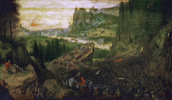 Saul halála, Pieter Bruegel the Elder