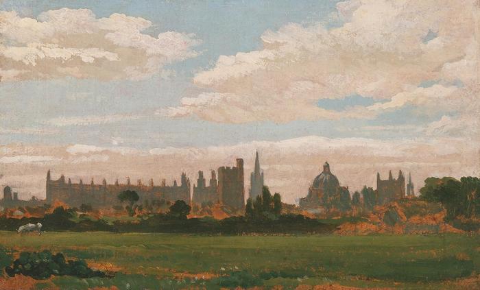 Oxford látképe, William Turner