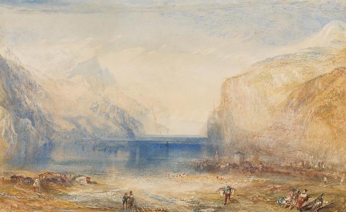 Reggel  Flüelenben, William Turner