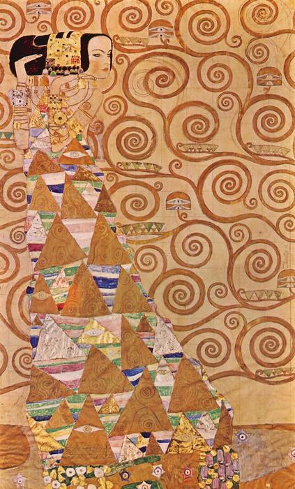 Anticipation, Gustav Klimt