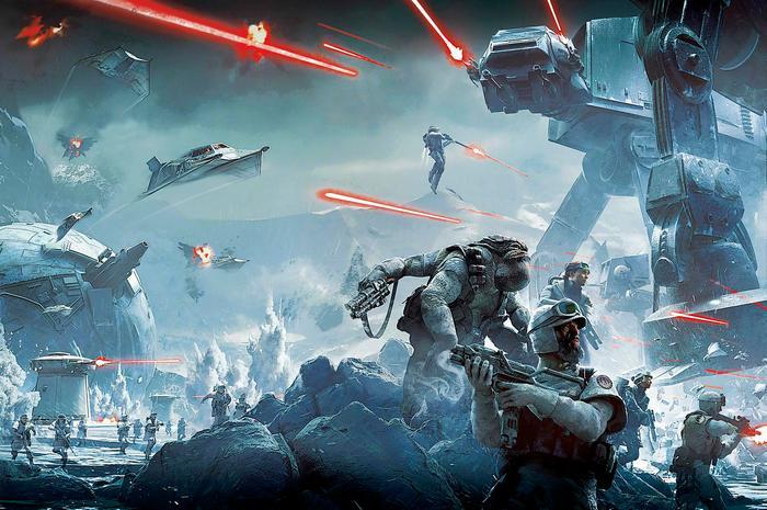 Star Wars: Battlefront - Twilight company videójáték  téma, Partner Kollekció