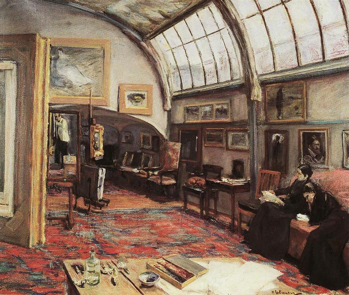 Festőművész műterme (1902), Max Liebermann