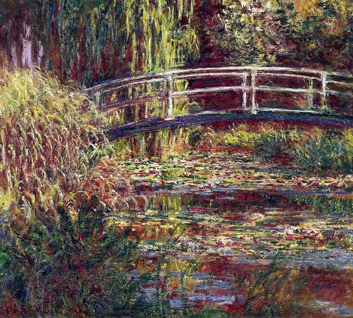 A japán híd Givernyben (1900), Claude Monet