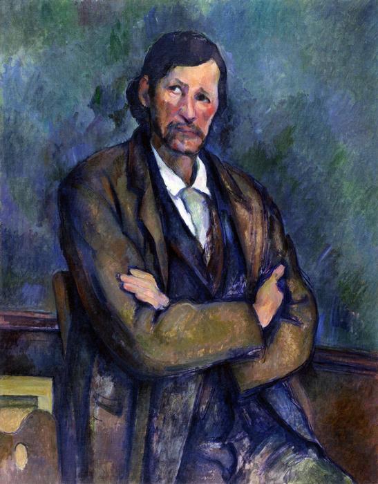 Cézanne önarckép, Paul Cézanne