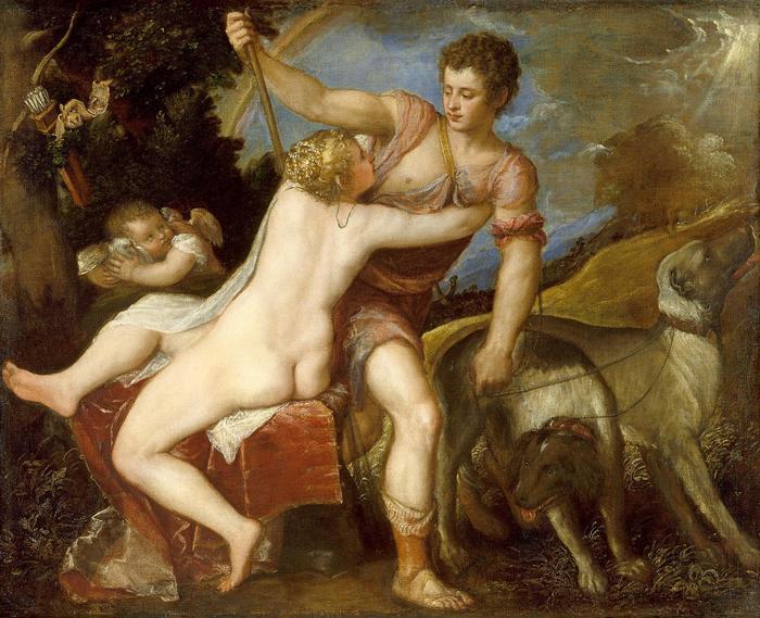 Vénusz és Adonisz, Tiziano Vecellio