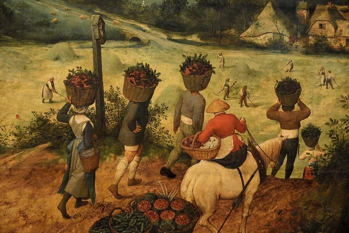 Szénagyűjtés, Pieter Bruegel the Elder