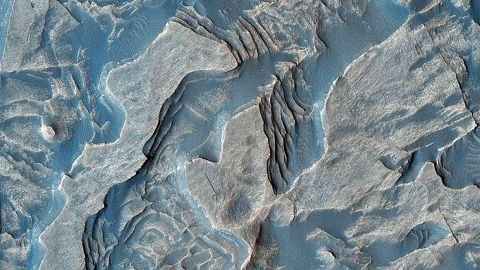 Melas Chasma, Layered Deposits, Mars felszín, Fotóművészek