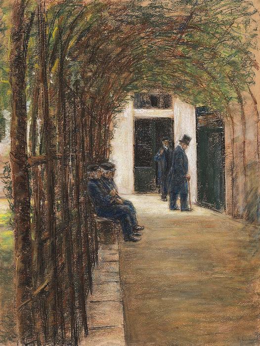Idősek otthona Amszterdamban (1880), Max Liebermann