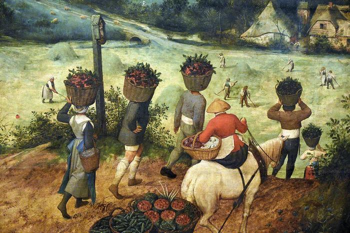 Szénagyűjtés (színverzió 1), Pieter Bruegel the Elder