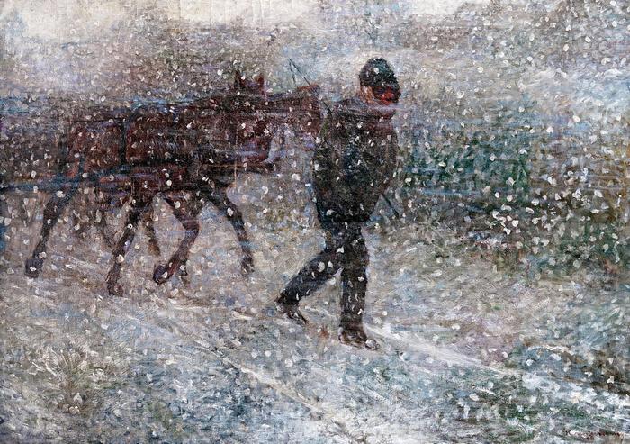 Kordé hóesésben, Kernstok Károly