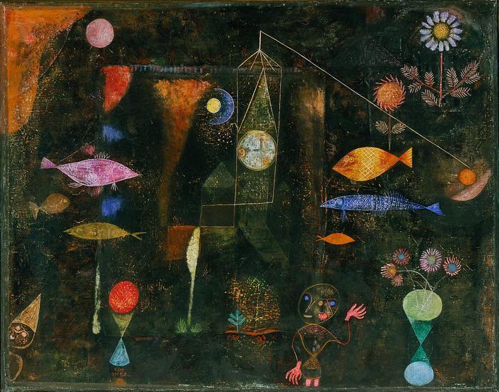 Halak a patakban, Paul Klee