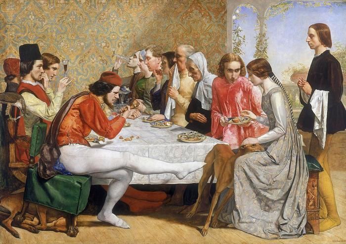 Isabella, John Everett Millais