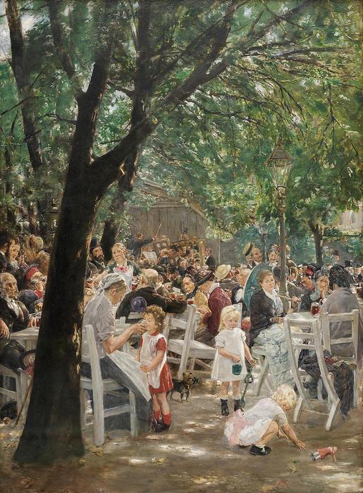 Sörkert Münchenben (1884), Max Liebermann