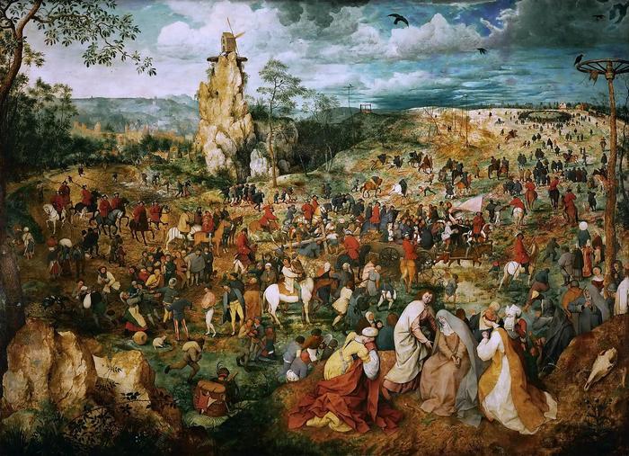 Keresztút, Pieter Bruegel the Elder