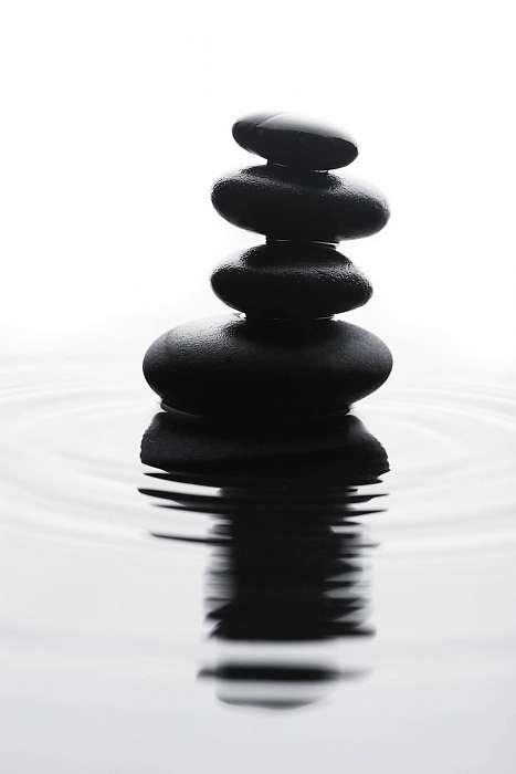 Zen - Kövek a tóban,