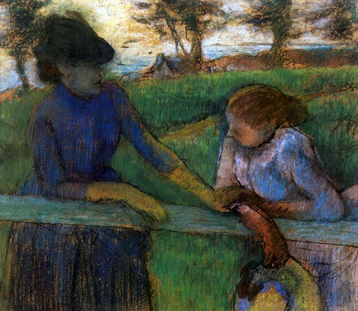 Párbeszéd, Edgar Degas